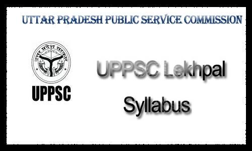 UPSSSC Lekhpal syllabus in hindi 2018 pdf