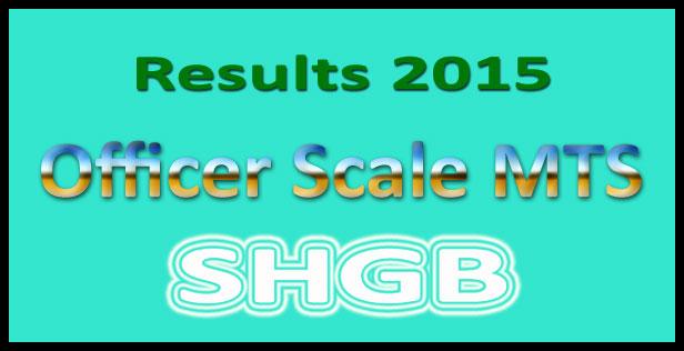 SHGB MTS result 2015