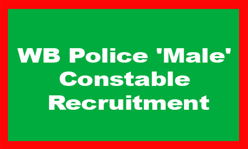 WB Police Male Constable Recruitment 2019