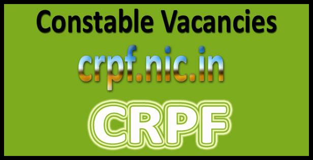 CRPF constable syllabus 2020