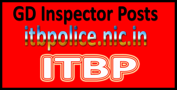 ITBP inspector admit card 2016