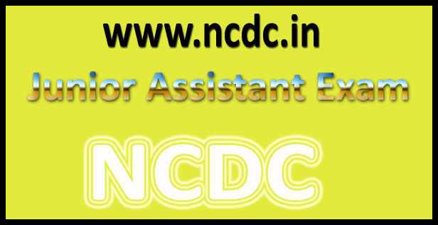 NCDC Junior Assistant Result 2016