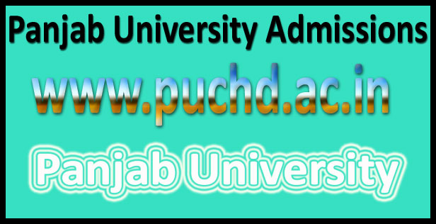 PU Admission Forms 2016