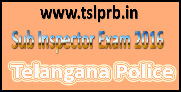 TS Police SI Results 2016