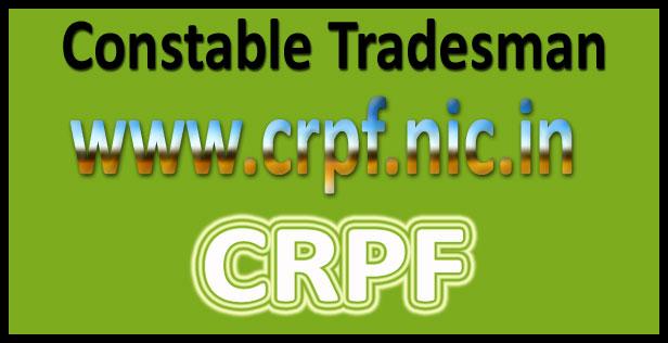 CRPF Tradesman Constable Answer Key 2016