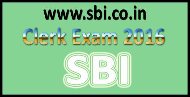 SBI Clerk Question Paper 2016