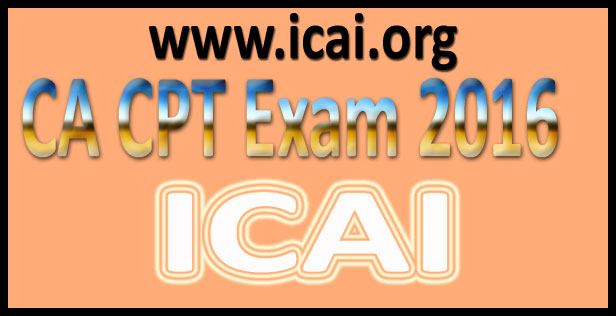 CA CPT Answer key June 2016