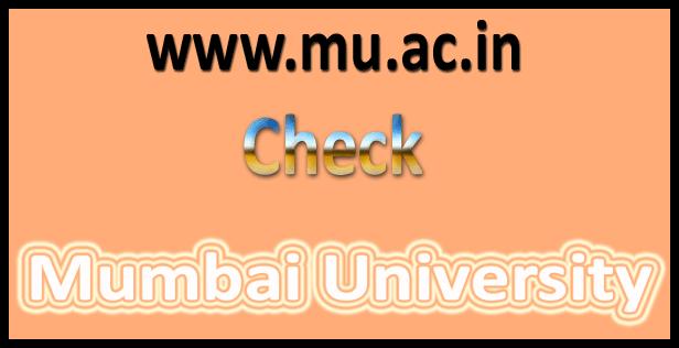 Mumbai University Results 2018