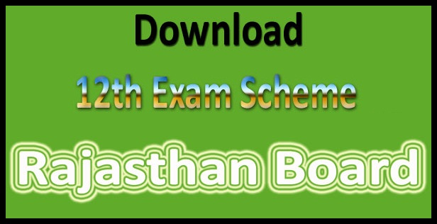 RBSE 12th time table 2019