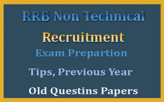 RRB non technical previous question papers pdf 2019